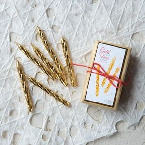 Gold Petite Party Candle